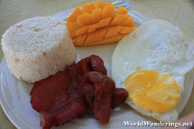 My Breakfast of Tosilog