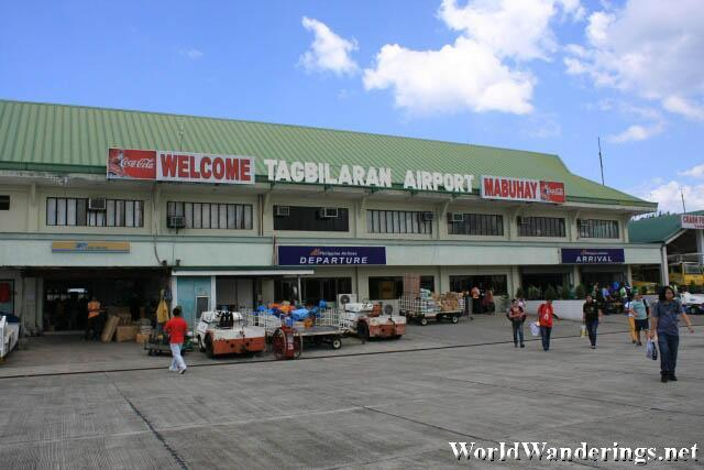 Tiny Tagbilaran Domestic Airport