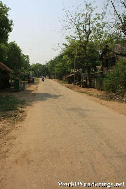 Dusty Roads of the Bagan Archeological Zone