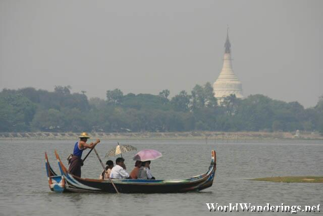 Cruising on the Ayeyarwaddy River