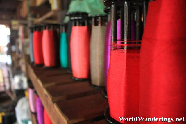Thread of All Colors at the Weaving Center