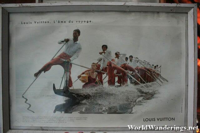 Inle Lake Themed Louis Vuitton Advertisement