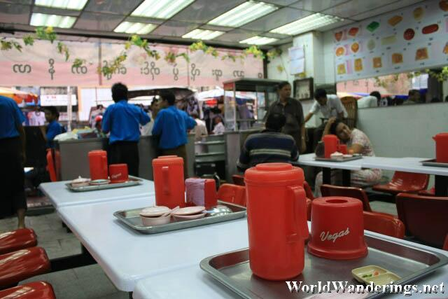 Inside the Nilar Briyani Shop