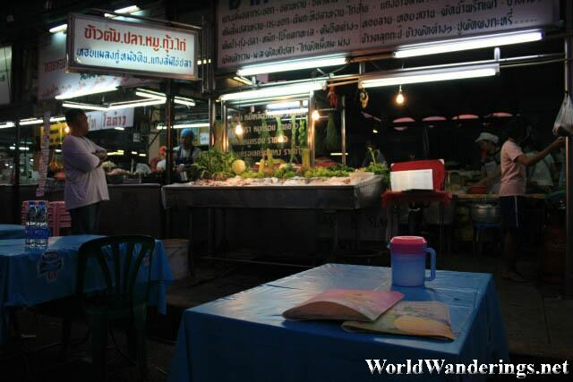 The Food Stall at the Market