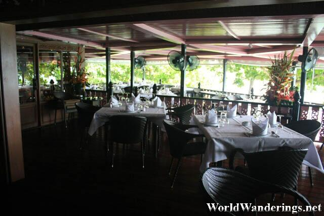 Attractive Interiors of Baan Rim Pa Restaurant