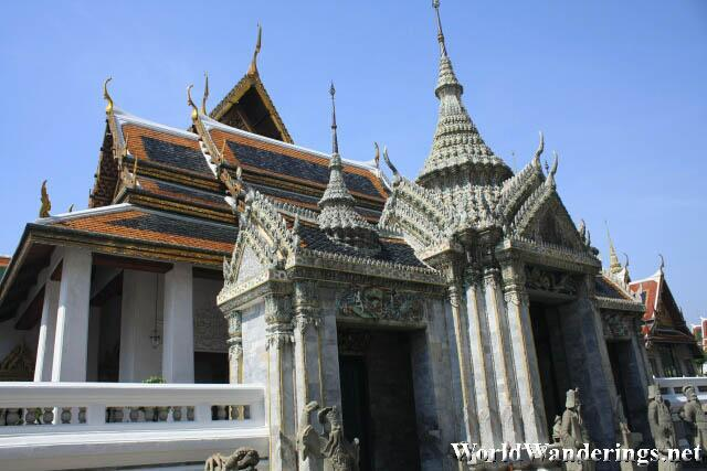 One of the Buildings in the Phra Maha Monthian Group