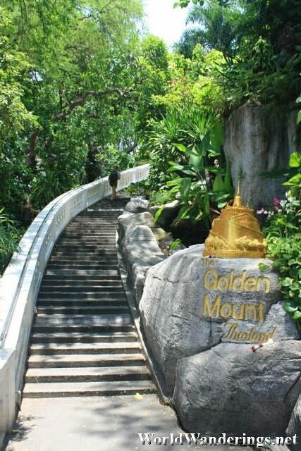 Entrance to the Golden Mount