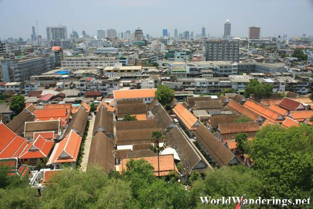 View of Bangkok from the Golden Mount