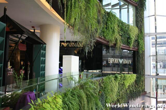 Greenery at Siam Paragon