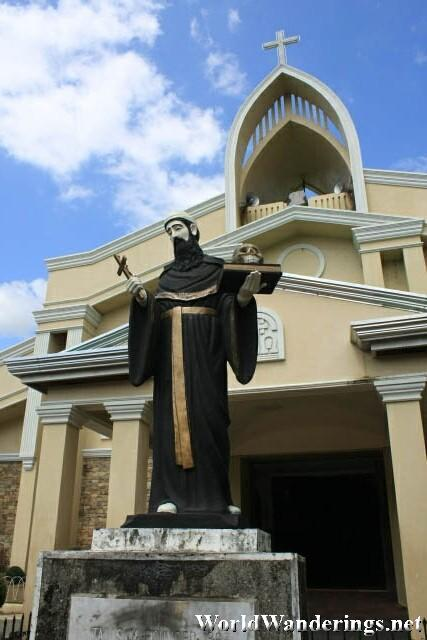 Statue of San Guillermo in Talisay Town