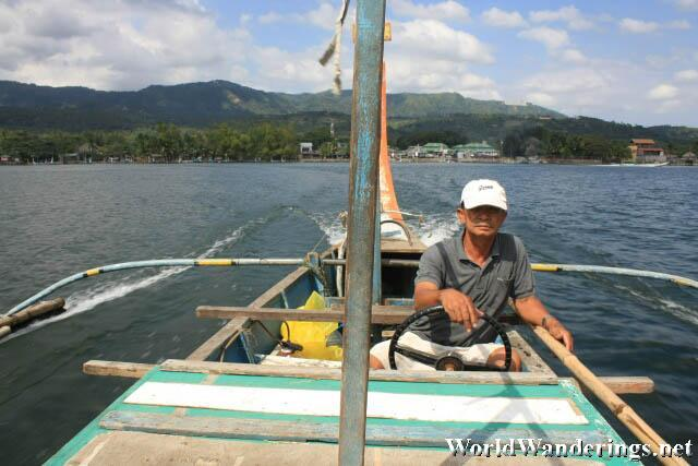 Boatman to Taal Volcano