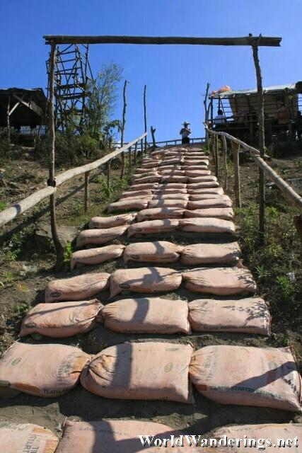 Stairs to the Crater