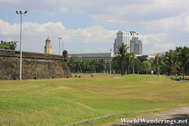 A View of the City of Manila