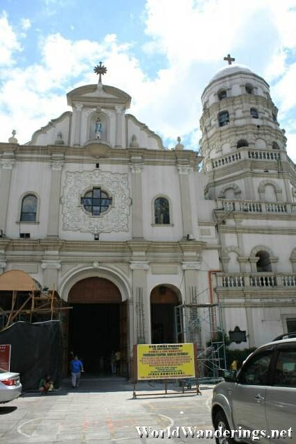 Sta. Cruz Church in Manila