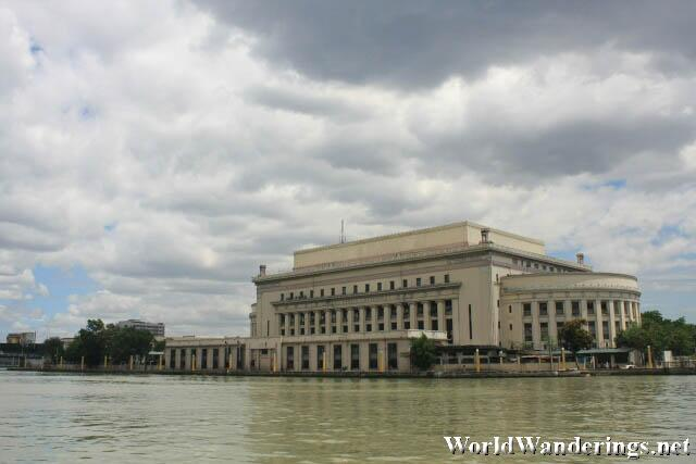Manila Central Post Office Along the Pasig River