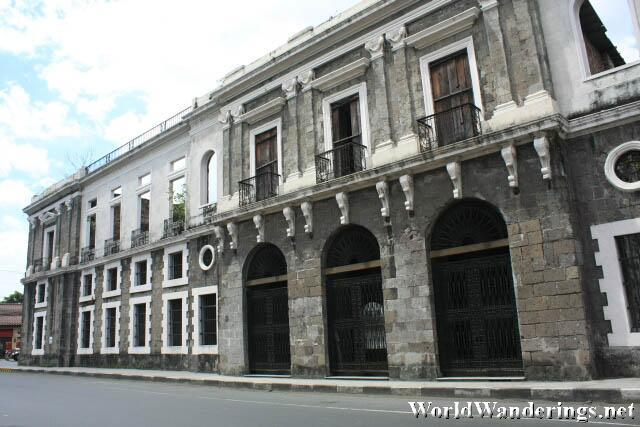 Aduana Building in Intramuros