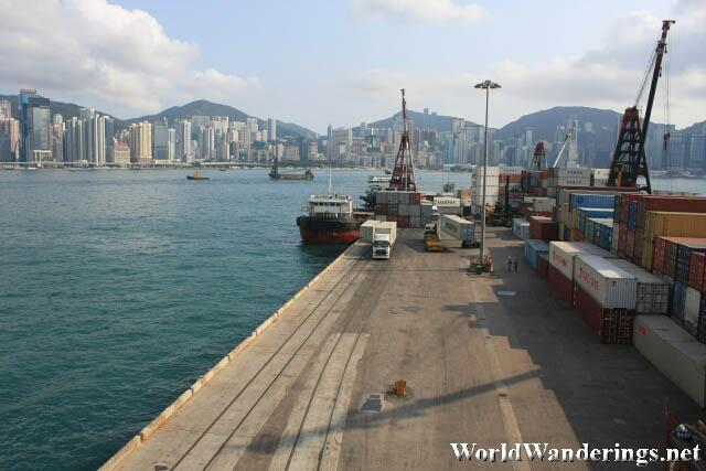 Small Container Port at Hung Hom