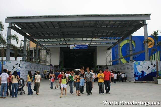 Entrance for the Manila Ocean Park