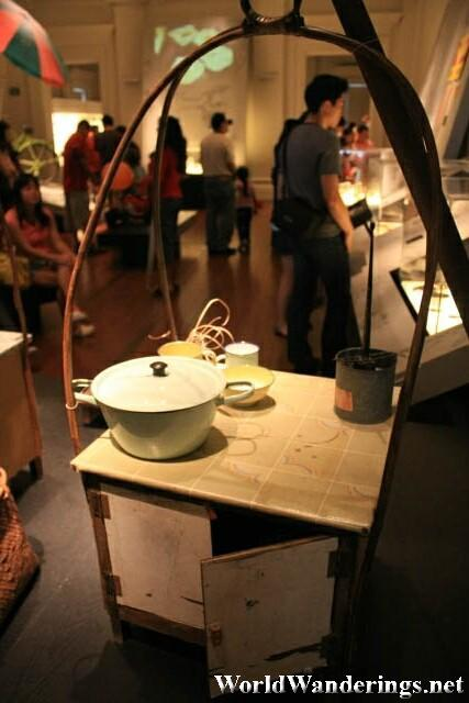 One of the Exhibits at the Singapore Living Galleries - Food