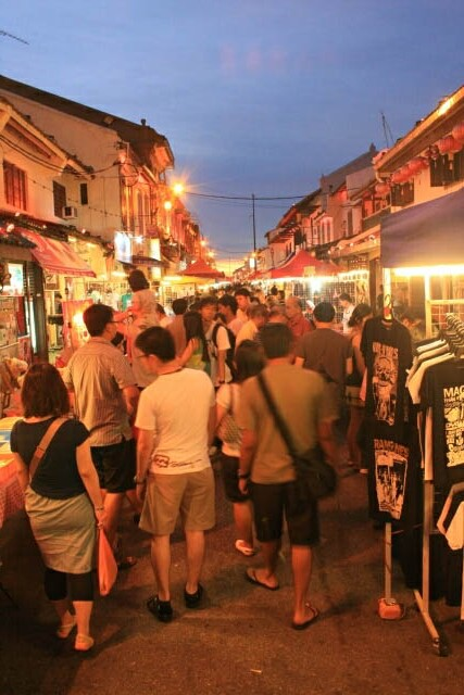 Crawling Along the Jonker Street Night Market