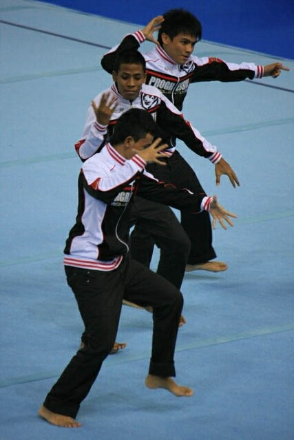 Dance Number Before the Gymnastics Competition
