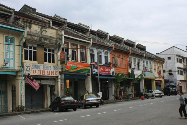 Shophouses in Tapah