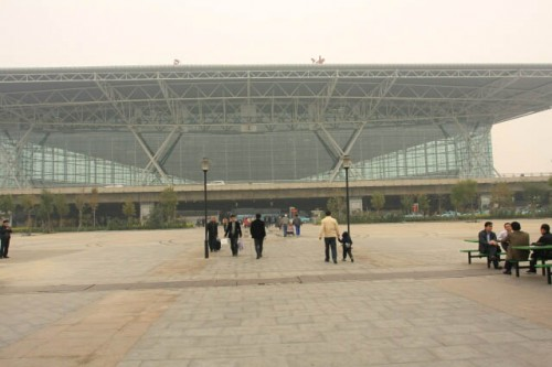 IMG 3209 500x333 Tianjin Binhai International Airport 天津滨海国际机场
