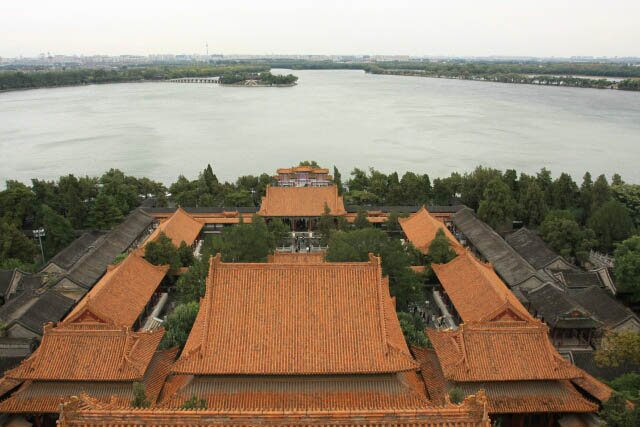 View of the Palace Complex from the Tower of Buddhist Incense 佛香阁