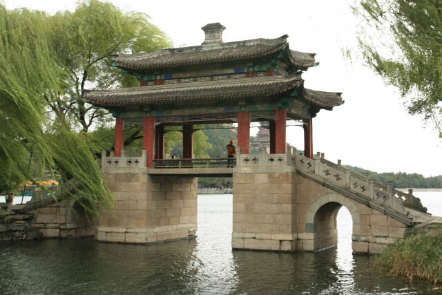 View of the Bridge of Pastoral Poems 豳风桥