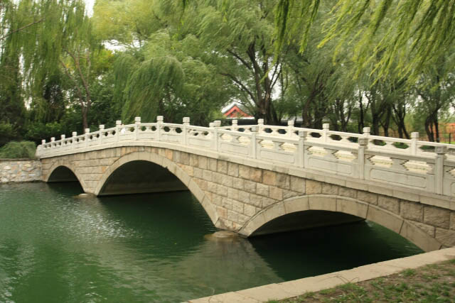 Elegant Bridge at the Summer Palace in Beijing