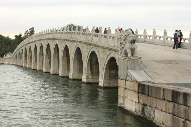 A Look at the Seventeen Arch Bridge 十七孔桥 in the Summer Palace