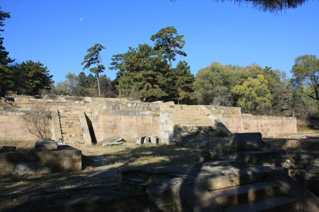 Temple Ruins at the Mountain Resort in Chengde