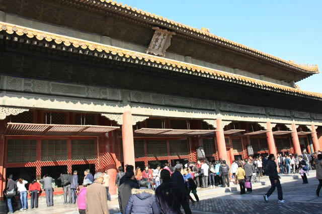 Hall of Earthly Tranquility 坤宁殿