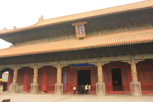 IMG 5483 500x333 Imperial Pavillions at the Confucius Forest 孔林