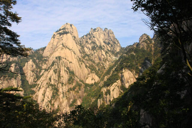 Some Framing of Huangshan 黄山