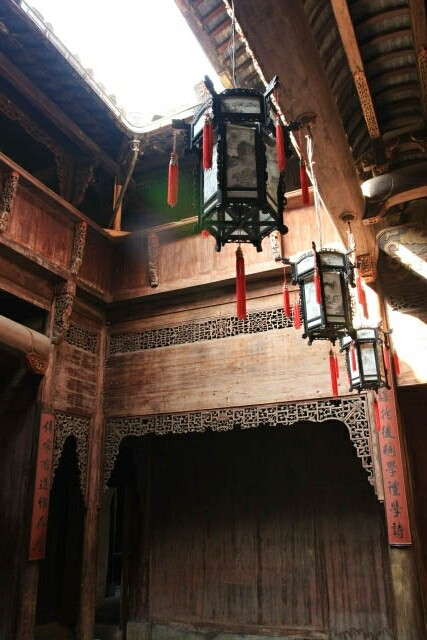 Interiors of a Huizhou 徽州 House in Hongcun 宏村 Ancient Village