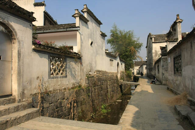 Alleys of Xidi 西递 Ancient Village