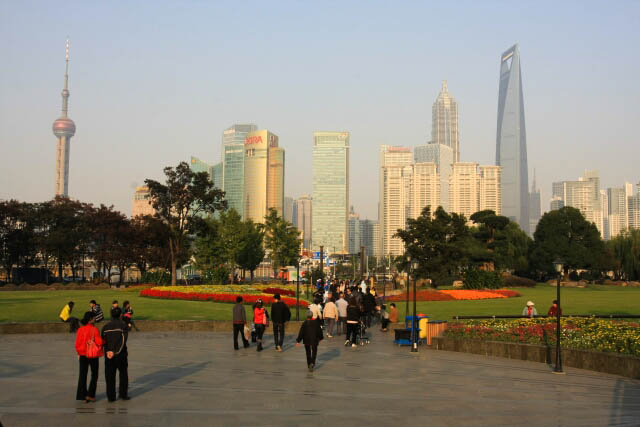 Fresh Open Space at Gucheng Park 古城公园 in Shanghai 上海