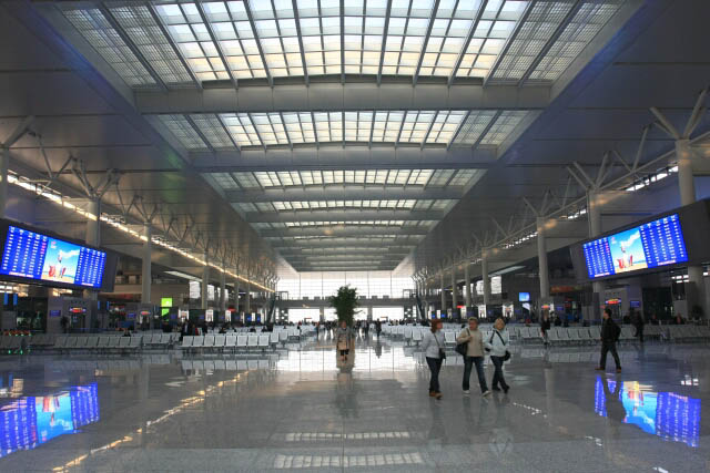 Not An Airport Terminal, This is Shanghai South Railway Station 上海南站