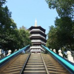 Going Up the Escalator at the Leifeng Pagoda 雷峰塔