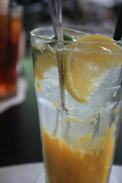 Refreshing Drink at PS Cafe
