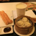 My Simple Breakfast of Dough Sticks, Xiaolongbao and of Course, Soy Milk