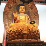 Statue of the Sakyamuni at the Grand Hall of the Great Sage 大雄宝殿
