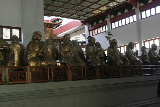 Just a Fraction of the Five Hundred Arhats