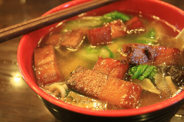 Dongpo Noodles at the Lingyin Temple