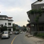 Streets of Longjing Tea Village