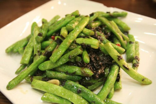 Dry Fried French Beans at Hangzhou 杭州
