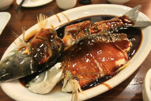 Fresh Water Fish in Vinegar Sauce