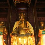 City God Statue at Chenghuang Temple 城隍庙