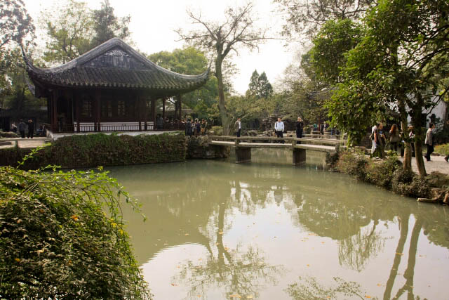 A Look at the Lake in the Humble Administrator's Garden 拙政园